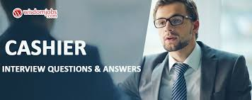 Cashier Interview Questions Answers