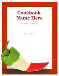 recipe book cover template downloads book jacket template letter format intended for cover front recipe
