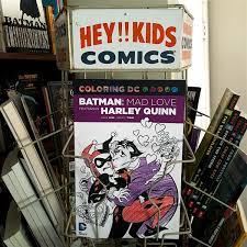 dc reprints the clic batman harley quinn story mad love as a coloring book