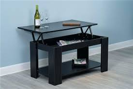 lift up table new lift up top black coffee table with storage shelf bishamon lift table parts