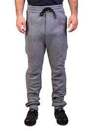 Balmain Men S Size Chart Pierre Balmain Mens Biker Sweatpants Grey Melange 50 29 5