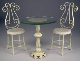 white wrought iron furniture. J. Getzan Dollhouse Miniatures Wrought Iron Tables,Dollhouse,bistro Tables,Dessert Tables White Furniture O