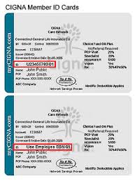 sample id cards sample id cards