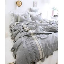 bed coverlet quality bed sheets for baby directly from china bed sheet comforter suppliers light grey luxury linen bedding set cotton fluid