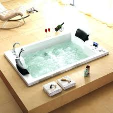 2 person bathtub two tub bathtubs for a romantic couple home depot