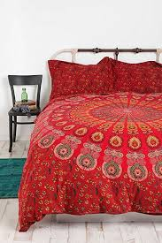 indian mandala duvet cover queen size blanket quilt cover bedspread bedding comforter cover by handicraftspalace