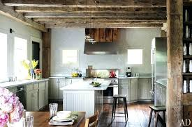 small rustic kitchen ideas want to copy photos architectural digest chandelier island rectangular pendant