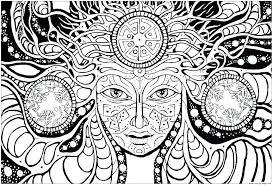 psychedelic coloring pages coloring page coloring pictures difficult psychedelic coloring pages for s 2 mushroom colouring book coloring pages