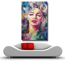 hdartisan marilyn monroe oil painting abstract modern wall painting canvas art prints for living room home