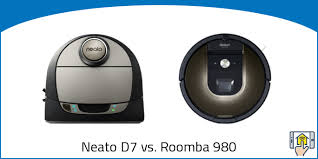 Neato D7 Vs Roomba 980 Differences Explained 2019 Jca
