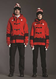 hudson s bay company canadian olympic uniform