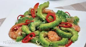 Jamur tiram sering dicampur dengan tepung dan bumbu buat dijadikan camilan gurih. Resep Tumis Pare Udang