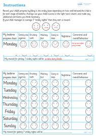 Twinkl Resources Bedtime Progress Behavior Chart