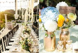 Ideas For Outdoor Wedding Reception Tables POPSUGAR Home Gorgeous Garden Wedding Reception Ideas Design