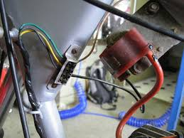 reliving my youth, bultaco trials bike adventure rider bultaco manual couldn't help myself, it had to come apart, not that it is complex, wireing doesn't get any simpler than this, just three wire, two in use