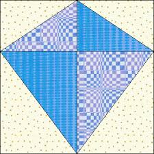 Fly a kite quilt (someday when I'm better with triangles ... & kite+quilt+block+pattern | Umbrella Block Adamdwight.com