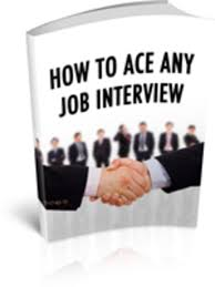 Job Interview Books How To Ace Any Job Interview Ebook Plr Download Audio Books Tea