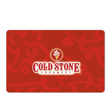 coldstone gift card