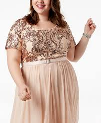 2019 R M Richards Mother Of The Bride Dresses Plus Size Belted Sequin Bodice Gowns A Line Chiffon Short Sleeves Mothers Dress Mother Of The Bride