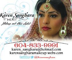 karen sanghara makeup hair artist mobile makep hair artist vancovuer bc