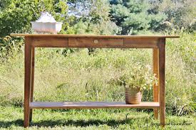 high console table. 36 High Console Table