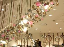 hanging ornament display at free people