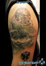 Tetování Hory Tetování Tattoo