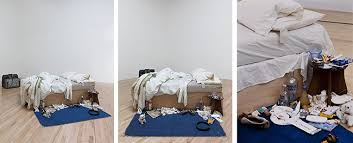tracey emin my bed article khan