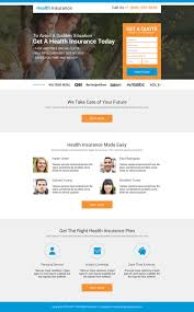 best health insurance company quote lp18 health insurance landing page design preview