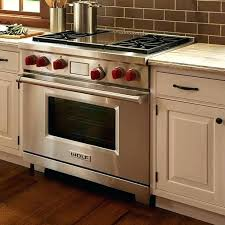 wolf gas stove. Wolf 36 Freestanding Dual Fuel Range With 4 Burners And Gas Stove Inch P
