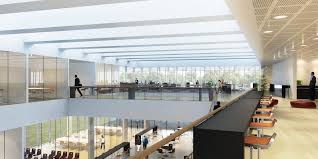 office building interior design.  Building Latest Lowenergy Building Design For Modern Office Interior On E