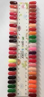 Sns Gelous Colours Swatch 70 In 2019 Sns Nails Colors Sns