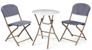 bistro set patio set folding chair