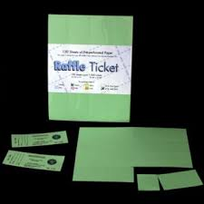 Perforated Raffle Ticket Sheets Printing Raffle Tickets Online On Popscreen