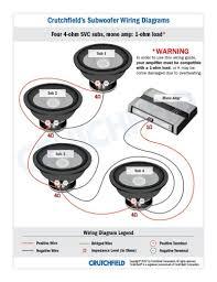 complete speaker wiring diagram 4 ohm dual voice coil wiring diagram dual voice coil subwoofer wiring diagram at Dual Voice Coil Wiring Diagram