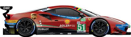 Ferrari unveils 488 gte and gt3 racing cars at finali mondiali. 51 Ferrari 488 Gte Evo Fia World Endurance Championship