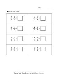 Grade Free Printable Math Worksheets Fraction For 4th Grade ...