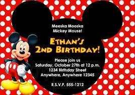 Online Birthday Invitations Templates Magnificent Minniemousebirthdayinvitationsonline New Invitations