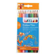crazy office supplies. Lakeland ColourThin Hard-wearing Colouring Pencils With Hexagonal Barrel (Assorted Colours) Pack Of Crazy Office Supplies