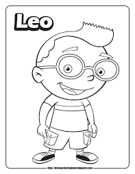 Small Picture little einsteins coloring pages leo Baby Coleman Pinterest