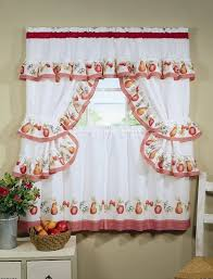 Kitchen Curtain Patterns Awesome Kitchen Curtain Patterns Nice How To Hang Kitchen Sliding Curtain