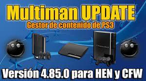 multiman 4 85 update ps3 hen y cfw