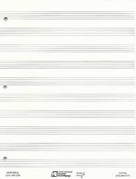 Nantel Music Store Books Methods Paper Staff