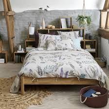 craft garden printed linen duvet cover la redoute interieurs image 0