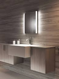 mirror with integrated lighting. Lucent Tall LED Light Bathroom Mirror With Integrated Lighting