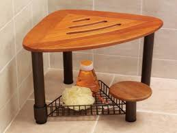 teak bathroom stools. Teak Bathroom Stools Shower Bench Wood Corner Regarding Stool Find A T