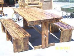 how to build rustic furniture. Image Of: Diy Rustic Picnic Tables How To Build Furniture O