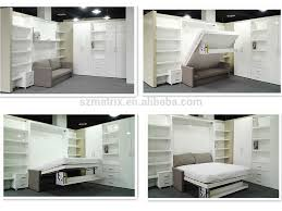 desk bed wall factory fold away transformable
