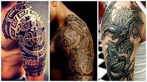 модные мужские татуировки на плече