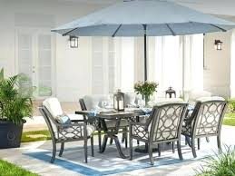 small outdoor umbrella stands patio sets with table best scheme